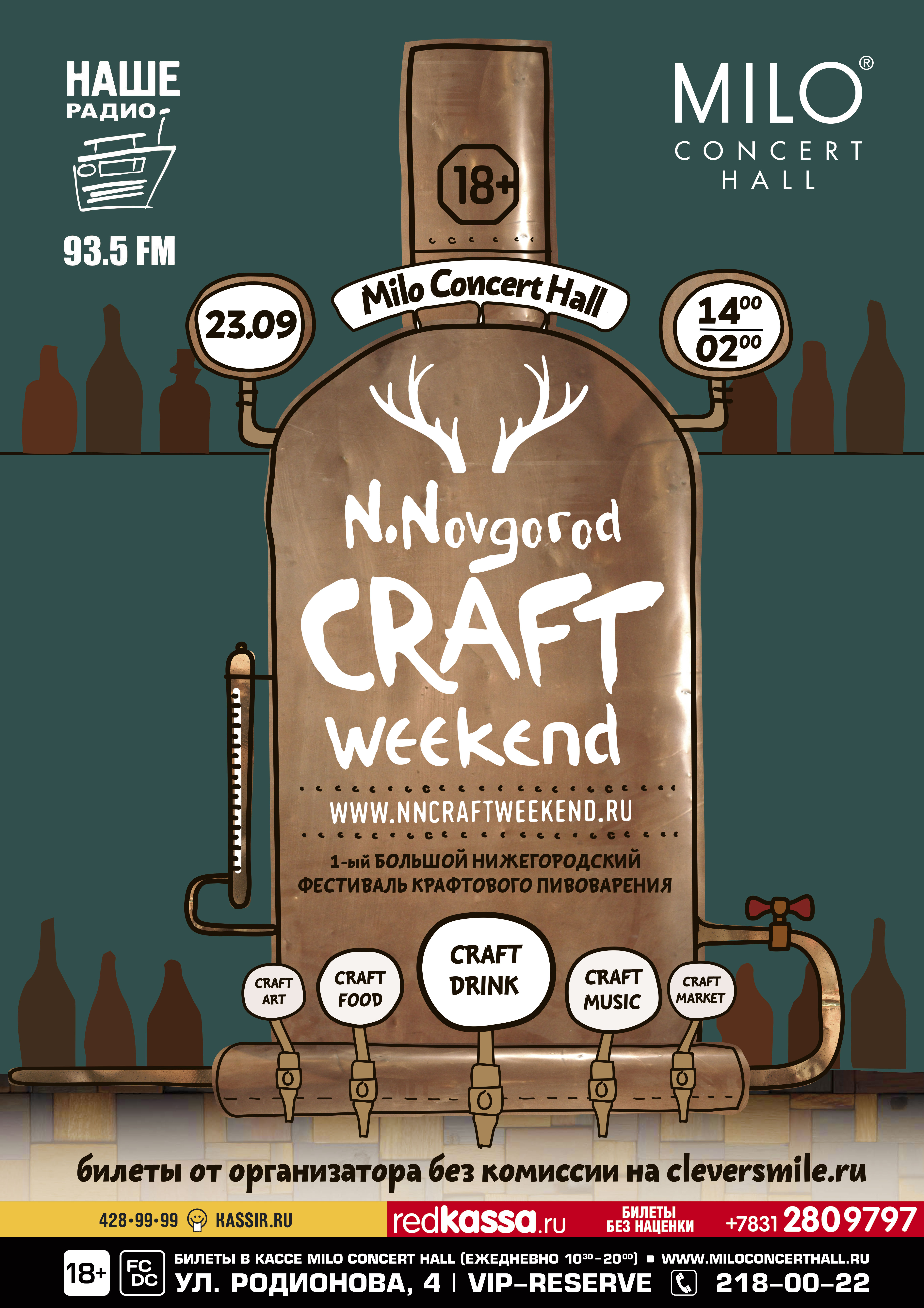 Афиша Craft Weekend в Нижнем Новгороде